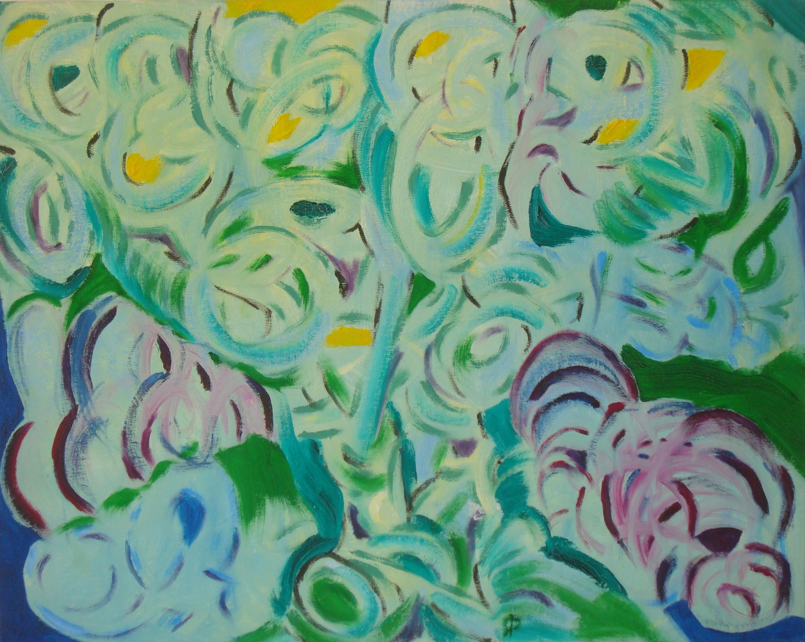 Plowed Under, Russell Steven Powell oil on canvas board, 16x12