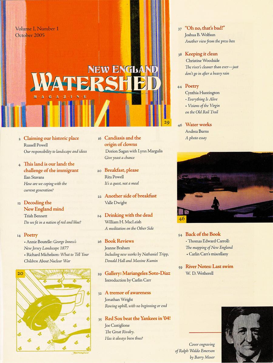 Table of Contents, Vol. 1, No. 1