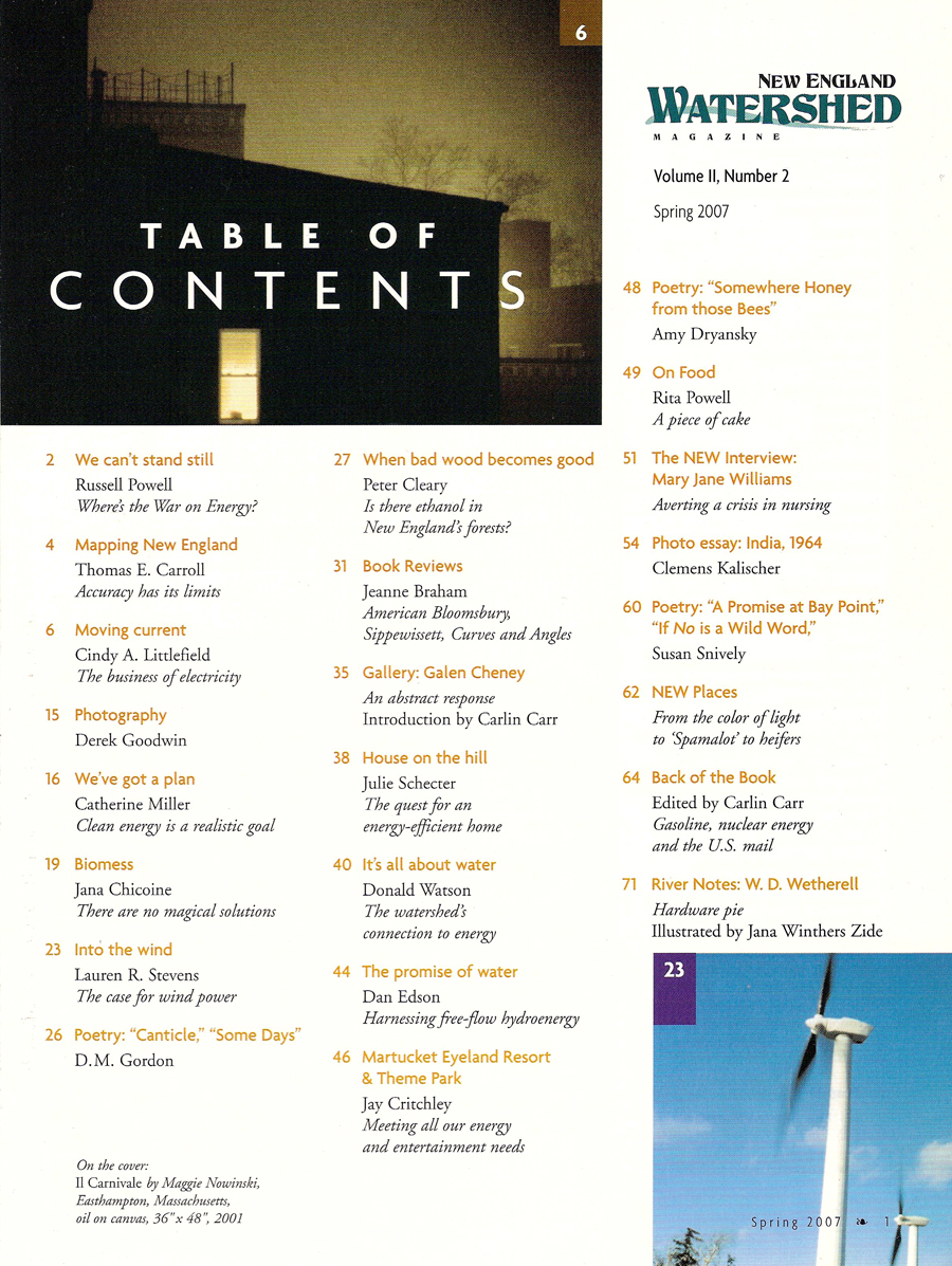 Table of Contents, Vol. 2, No. 2