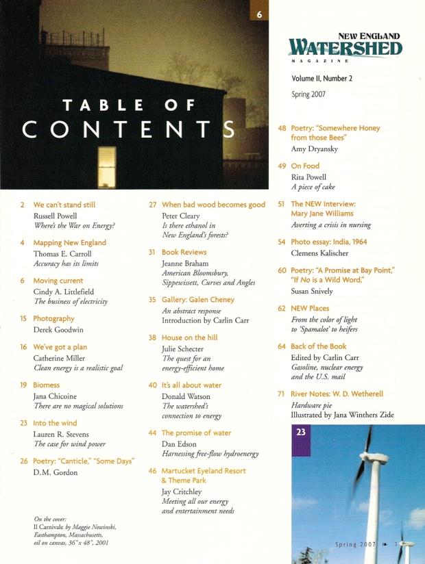 Table of Contents, Vol. 2, No. 2