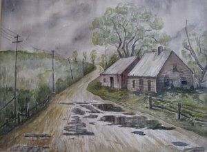Untitled, John Howland Powell, watercolor, 20x14 (1971)