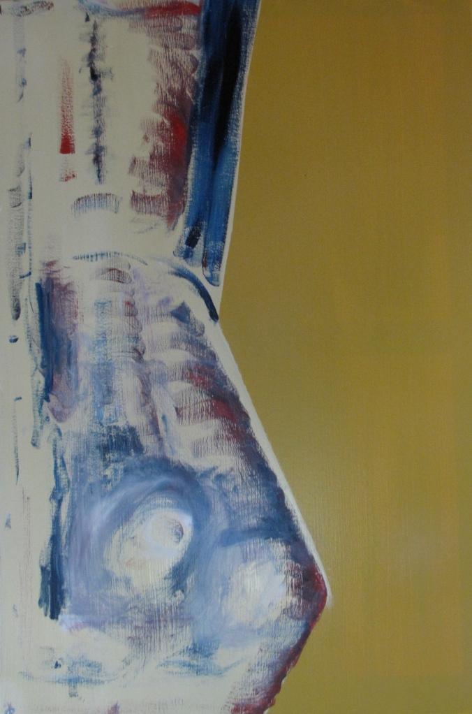 Beach Heat I, Russell Steven Powell oil on canvas, 24x36