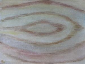 """Shack Interior, watercolor, 11""""x15"""""""