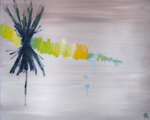 Season's Greetings, Russell Steven Powell oil on canvas, 20x16