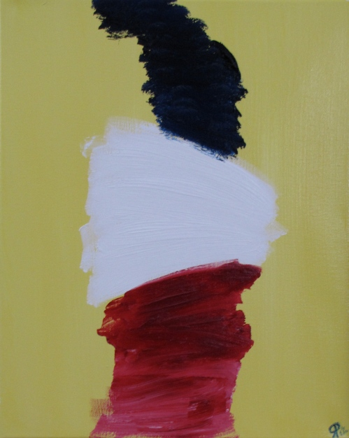 Sleeve, Russell Steven Powell oil on canvas, 16x20