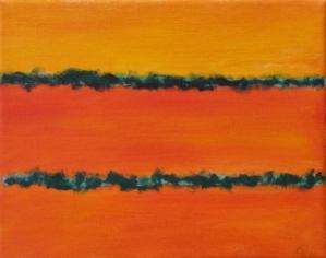 Seedlings, Russell Steven Powell oil on canvas, 10x8