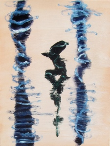 Reflection II, Russell Steven Powell oil on canvas, 11x14