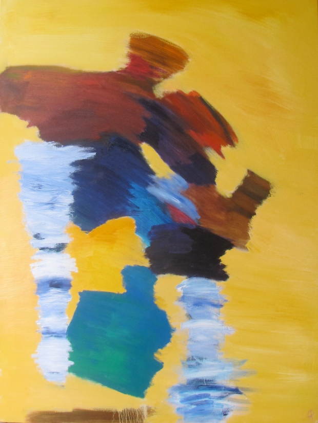 """3x4x1, Russell Steven Powell oil on canvas, 36""""x48"""""""