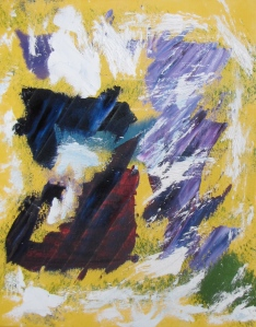 Untitled #23, Russell Steven Powell oil on canvas, 16x20