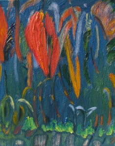 Grass Sea, oil on canvas, 16x20