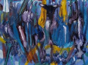 Sea Grass, oil on canvas, 24x18