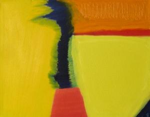 River, Hatfield, Russell Steven Powell oil on canvas, 16x12