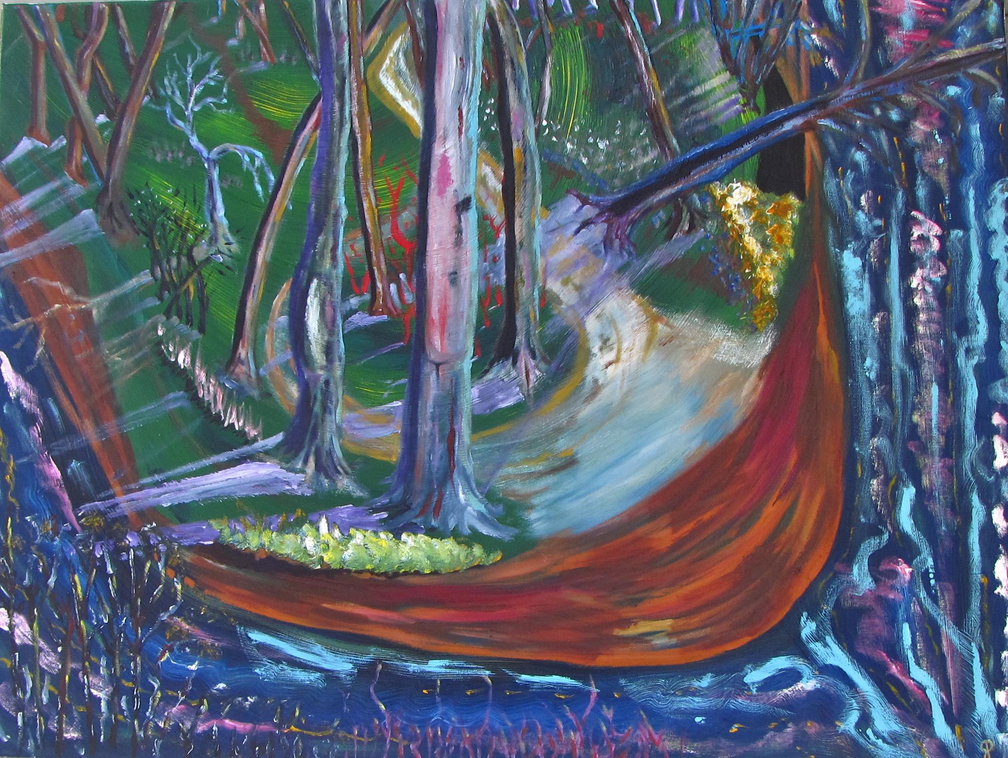 River Overlook, Russell Steven Powell, 40x30