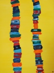 Stacks, Russell Steven Powell oil on canvas, 30x40
